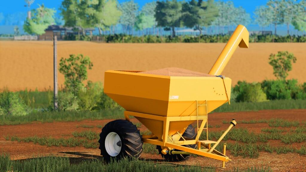 Lizard 60 1 0 0 0 Fs 2019 Farming Simulator 19 Trailers Mod