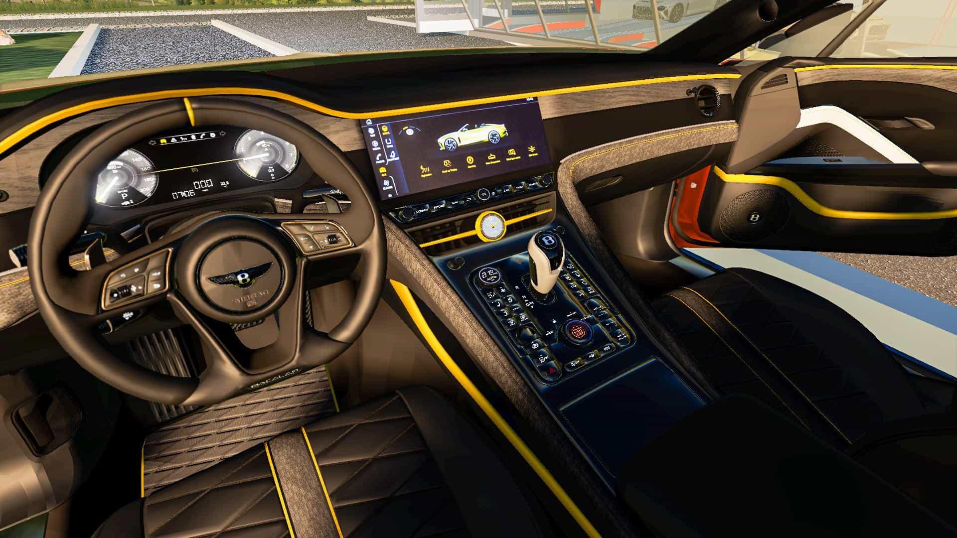 Bentley Mulliner Bacalar 2021 V1 0 0 0 Mod Farming Simulator 19 Cars Mod